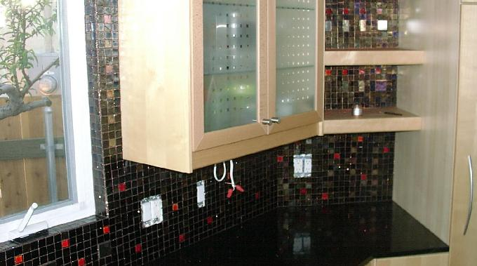 Kitchen Countertop Backsplash